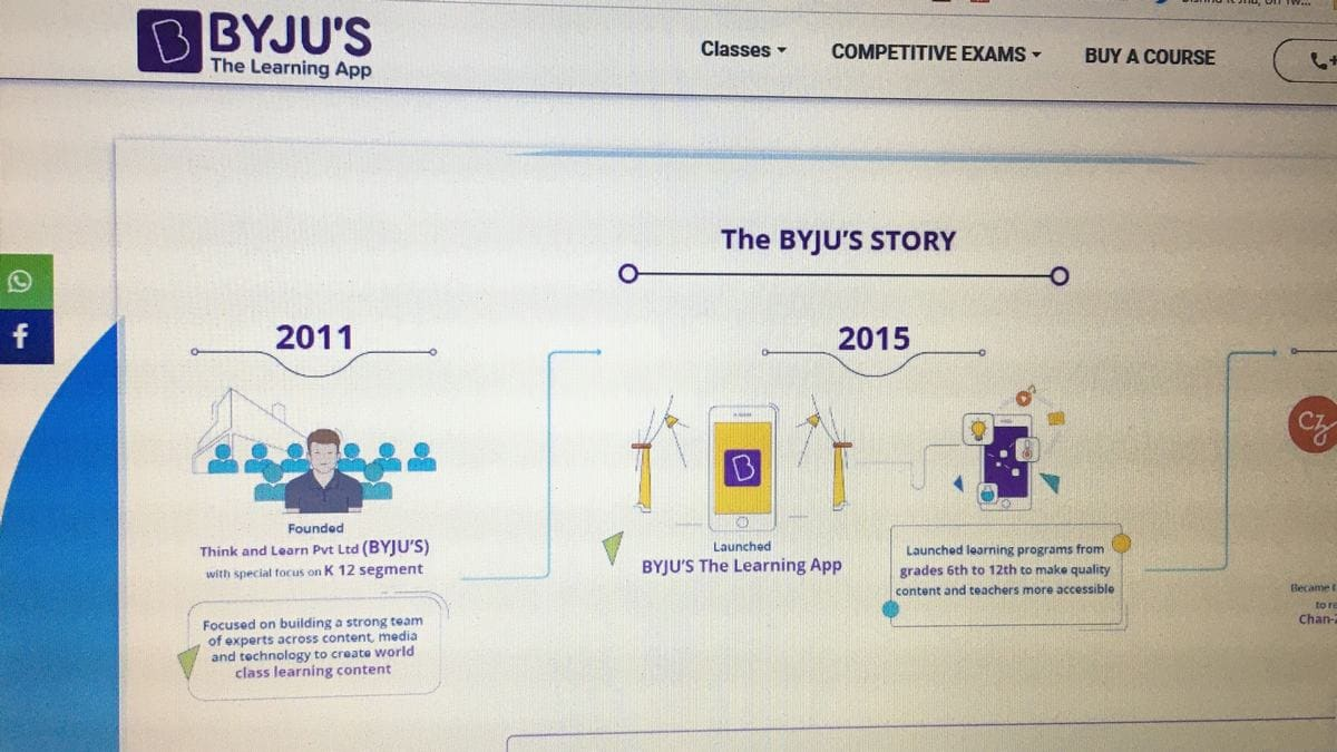 Byju's to Add Tiger Global as Investor, Said to Raise $200 Million