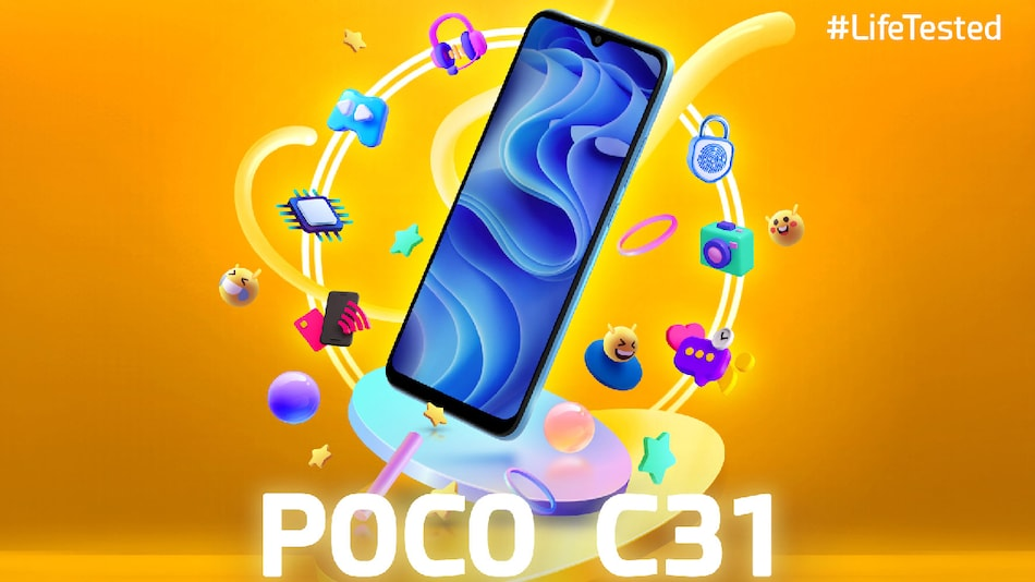 Poco C31 Key Specifications Confirmed Ahead of India Launch; to Feature MediaTek Helio G35 Processor