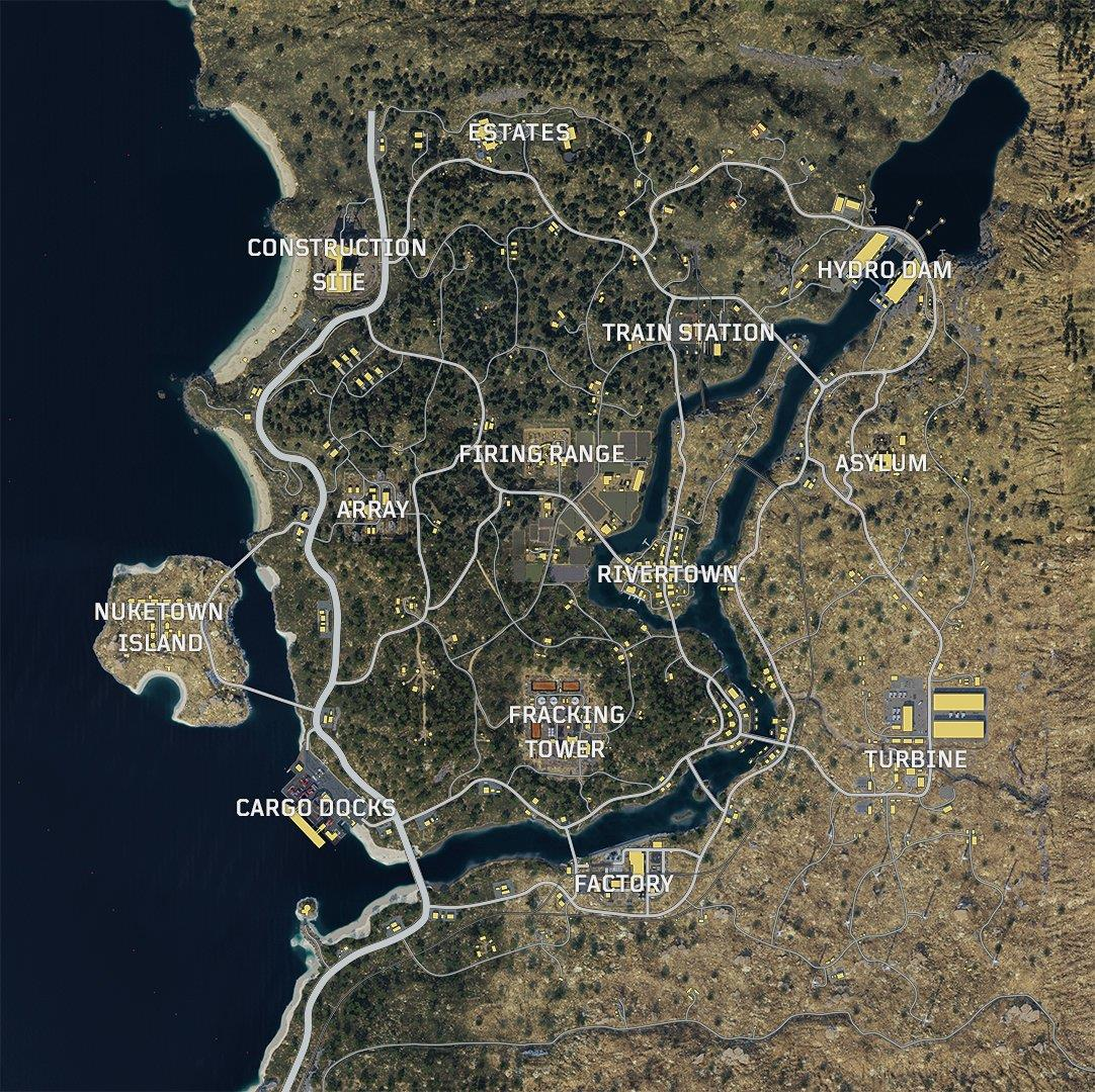 call of duty black ops 4 blackout Call of Duty Black Ops 4 Blackout map