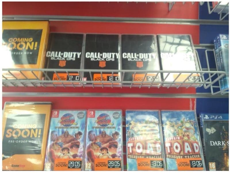 Call of Duty: Black Ops 4 Nintendo Switch Pre-Order Cases Surface Before Official Reveal