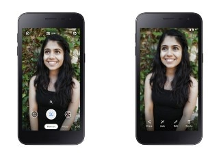 Google Unveils Camera Go App With Portrait Mode for Android Go Users, Nokia 1.3 to Get It First