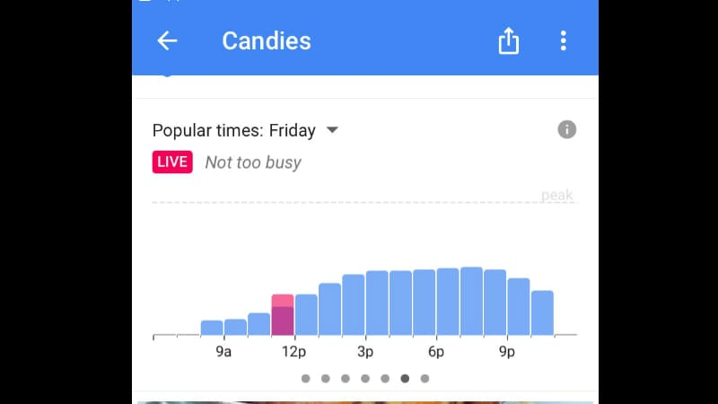 Google Maps for iOS Gets Real-Time Data for Crowded Places