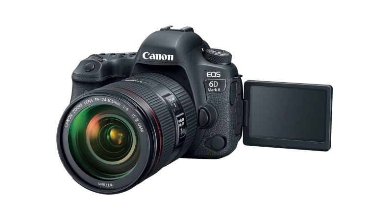 Canon EOS 6D Mark II Full-Frame DSLR, EOS 200D Entry-Level DSLR Cameras Launched