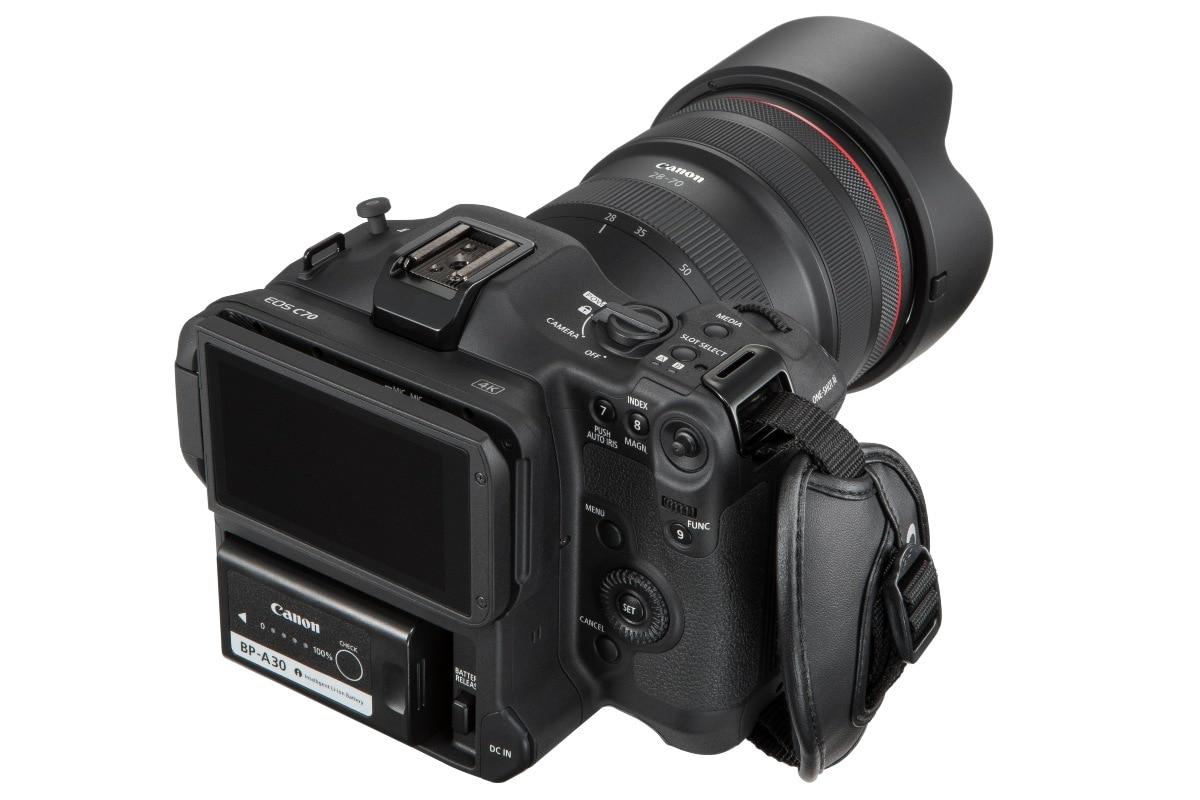 canon eos c70 back view image Canon EOS C70