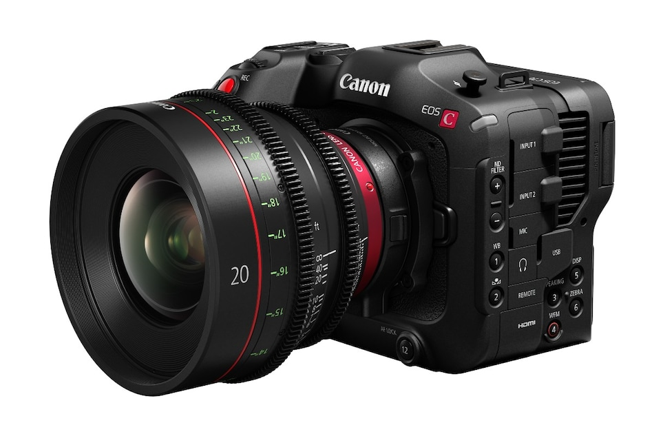 Canon EOS C70 With CMOS DGO Sensor, RF Lens Mount Launched, Mount Adapter EF EOS R 0.71x Debuts As Well