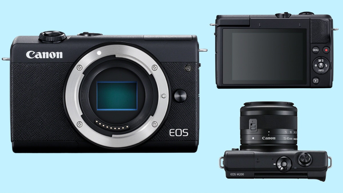 Canon EOS M200 Launched, the Company's Latest Entry-Level Mirrorless Camera