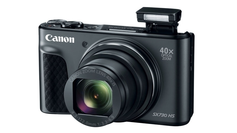 Canon PowerShot SX730 HS Compact Camera With 40x Optical Zoom Launched