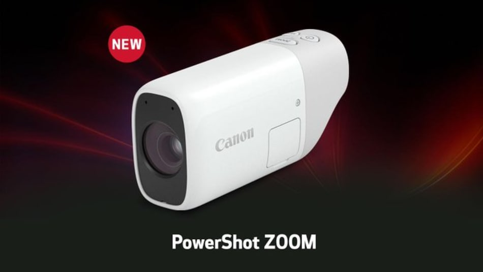 Canon PowerShot Zoom Pocket-Sized Monocular Telephoto Camera With 400mm Optical Zoom Launched