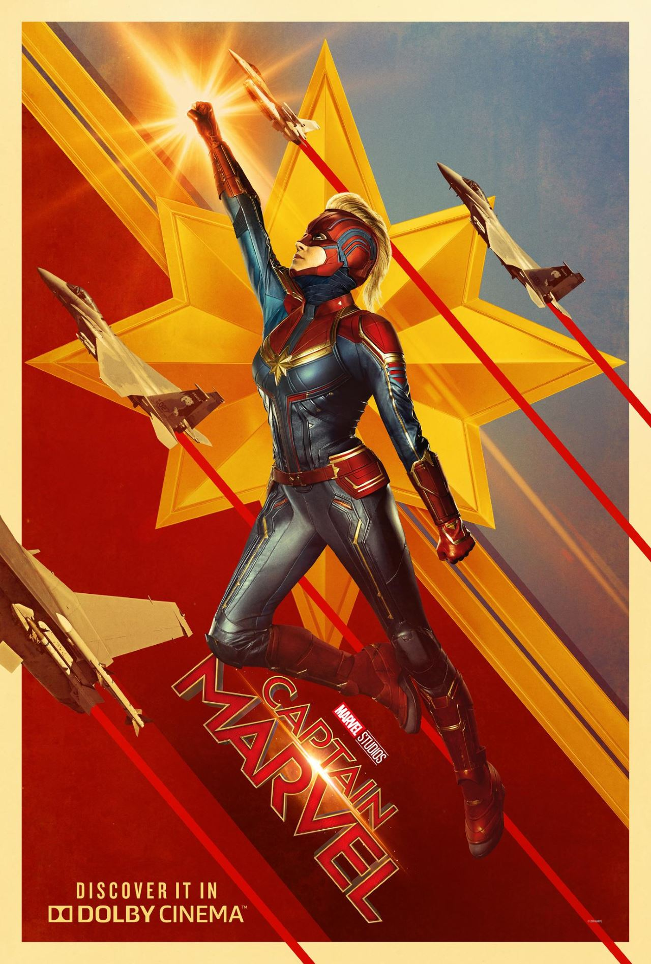 captain marvel poster dolby cinema Captain Marvel
