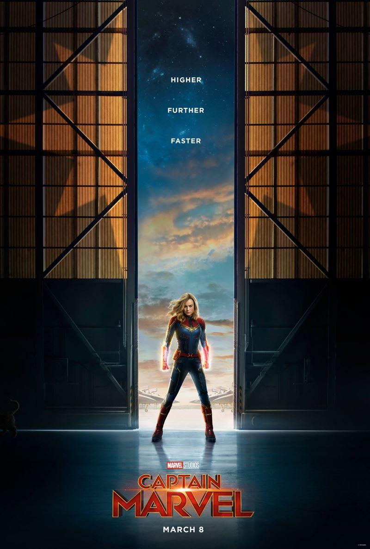 captain marvel poster Captain Marvel