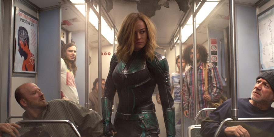 Captain Marvel Records Sixth Best Opening of All-Time With $455 Million Worldwide