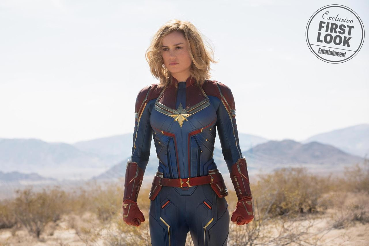 First official look at Brie Larson as Captain Marvel