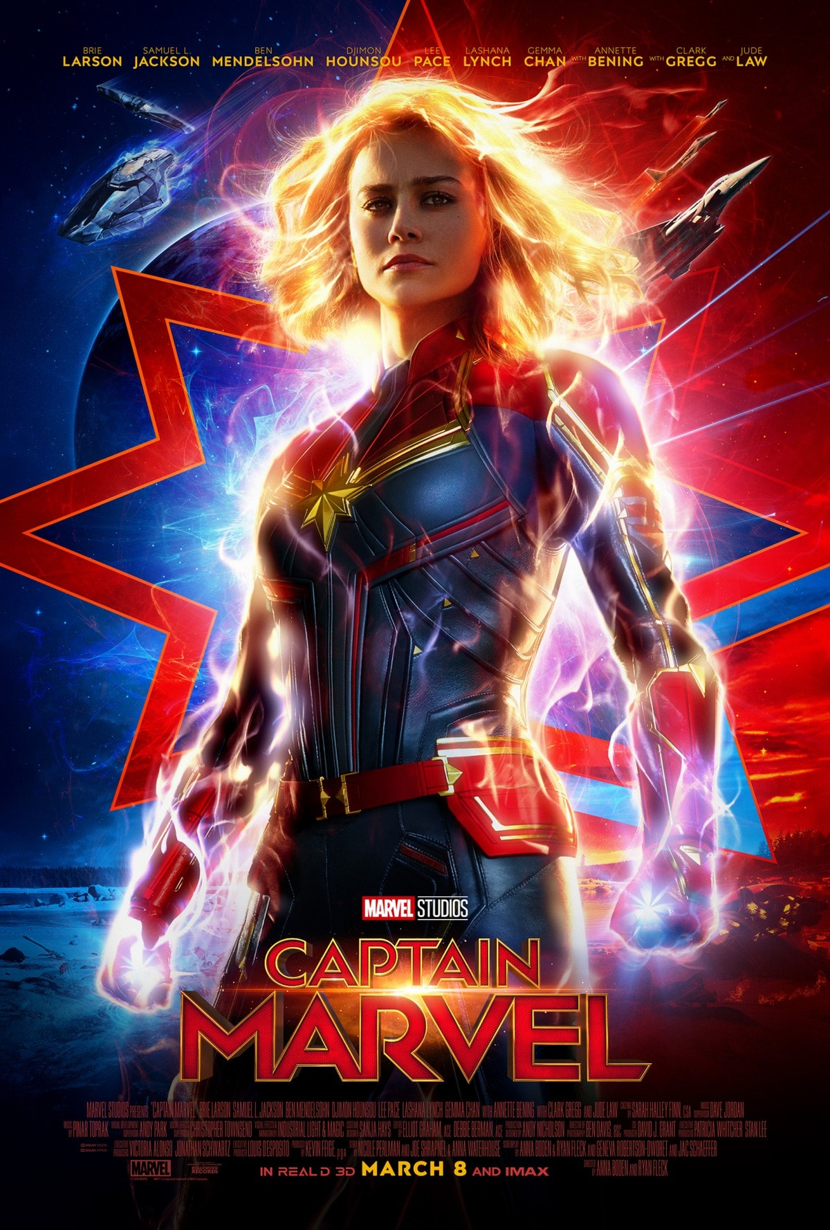 captmarvelposter huge Captain Marvel