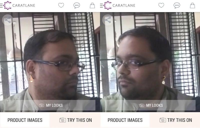 caratlane ar app caratlane