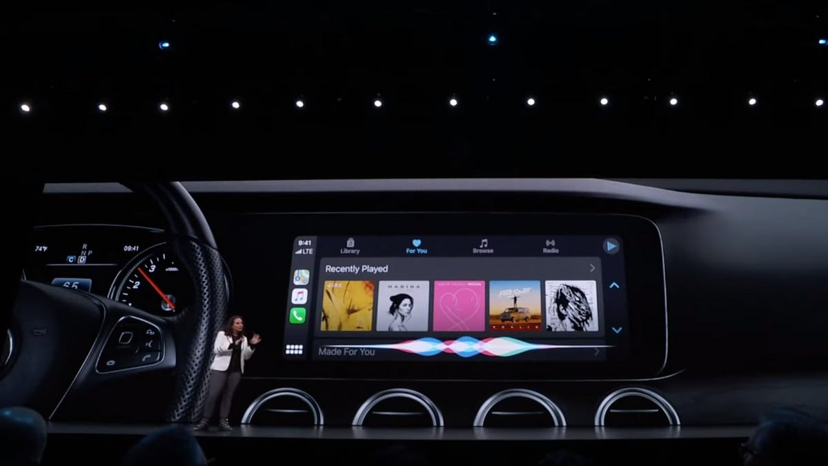 Apple CarPlay Gets Design Overhaul, Hey Siri Support, and