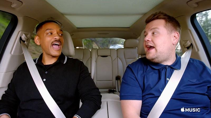 Carpool Karaoke's First Episode Debuts on Apple Music, Excluding India
