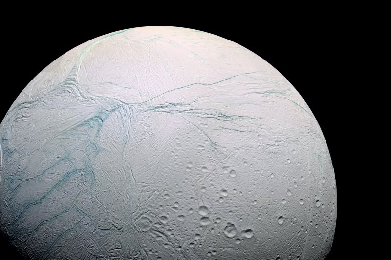 Cassini Spacecraft Enceladus Saturn Orbit