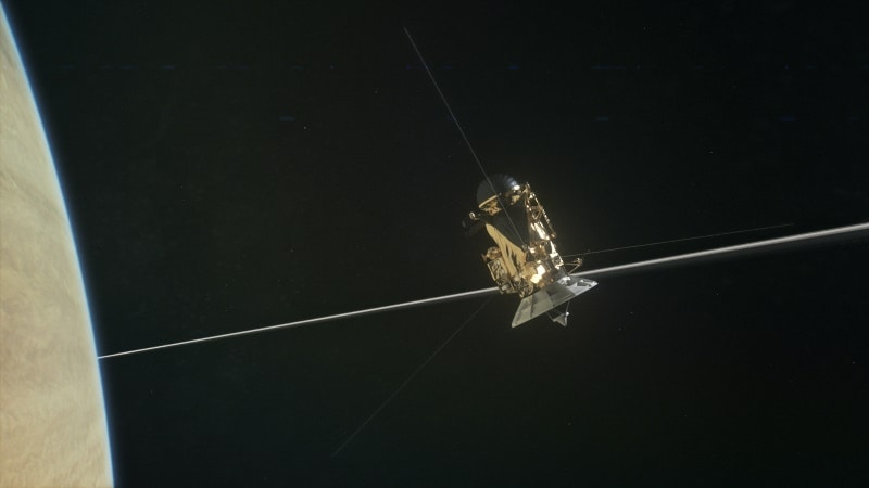 NASA's Cassini Set for Second Dive Between Saturn and Its Rings Tonight