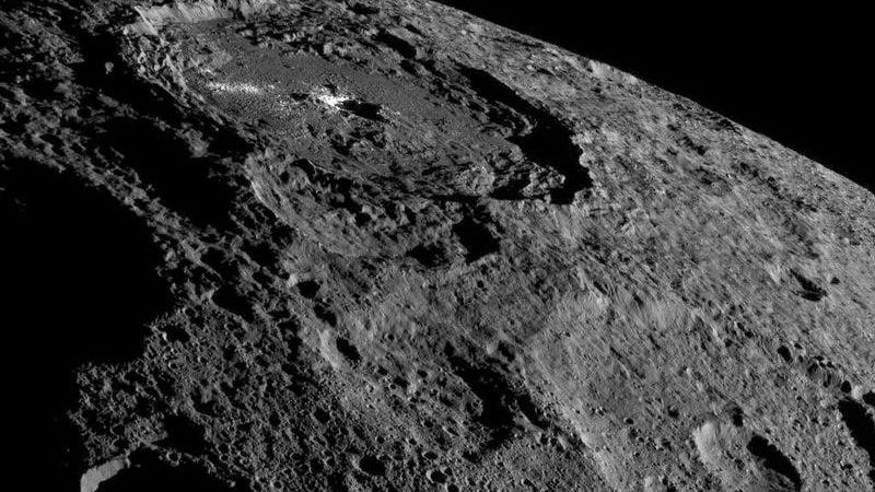 NASA Spacecraft Detects Organic Compounds on Dwarf Planet Ceres, Raising Prospect of Life