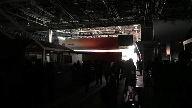 CES 2018 Saw a Brief Power Outage on Wednesday Thanks to Heavy Rains in Las Vegas