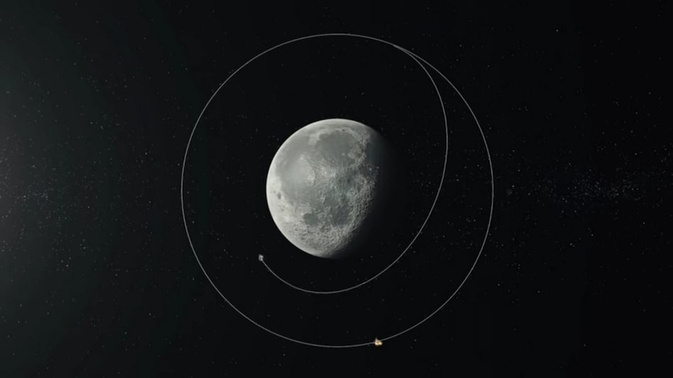 भारत के चंद्रयान-2 स्पेसक्राफ्ट ने पूरे किए चांद के 9 हजार से अधिक चक्कर