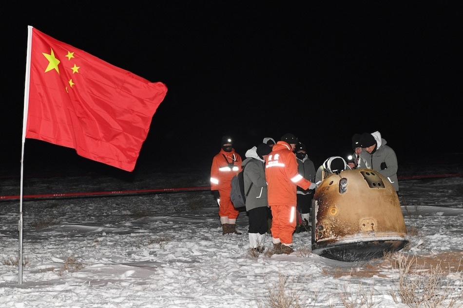 China to Share Moon Samples Brought to Earth by Chang'e 5 Probe With Other Countries