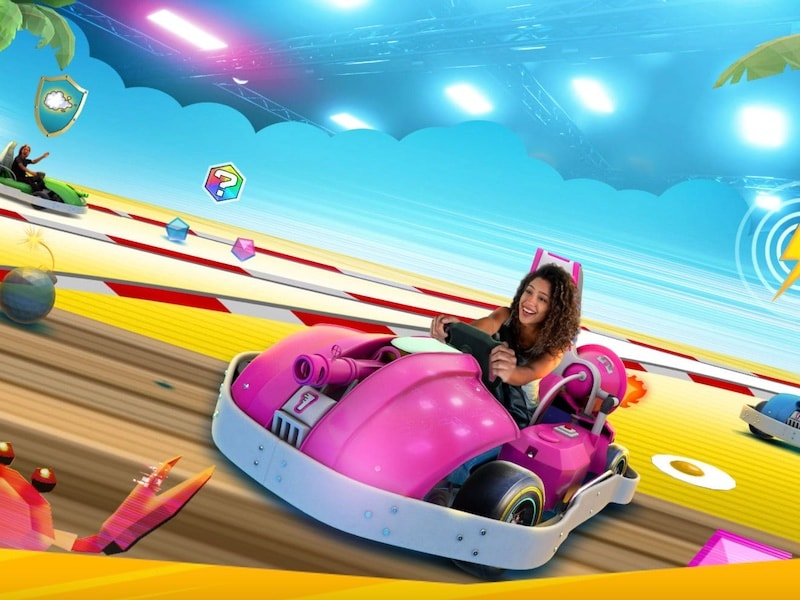 Chaos Karts: Experience The Fun Of Go-Karting And Augmented Reality In This Real-Life Video Game