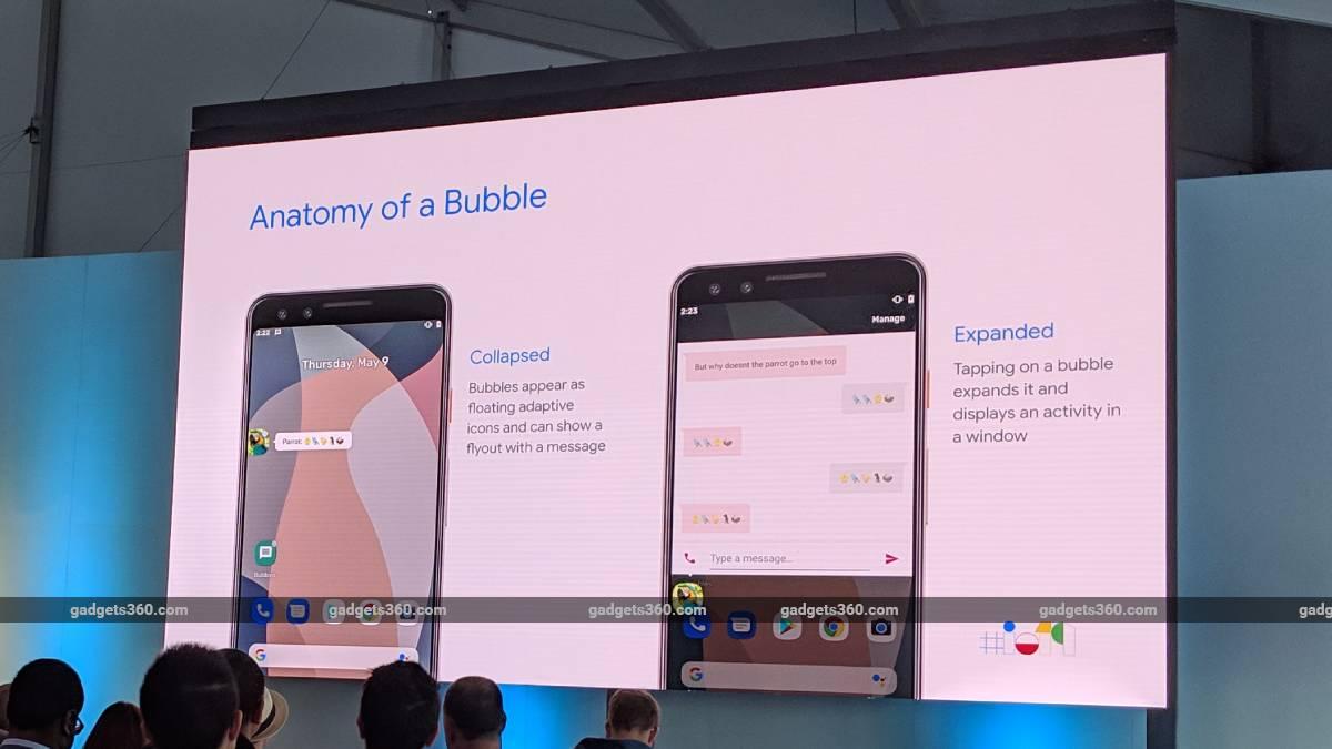 chat bubbles google io 2019 ndtv google