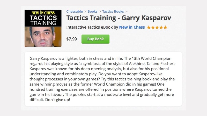 chessable kasparov Chessable