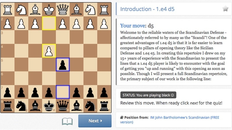 chessable learn Chessable
