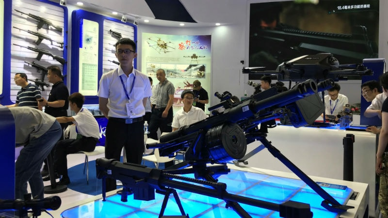 At Beijing Security Fair, an Arms Race for Surveillance Tech