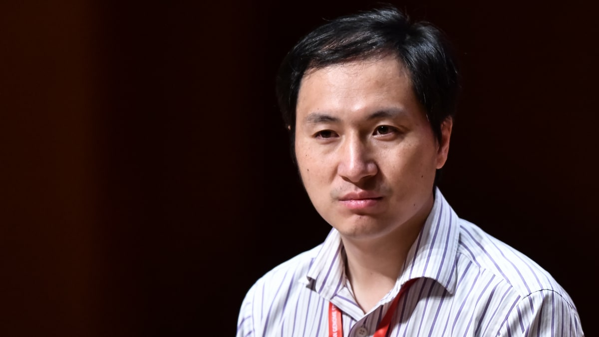 AFP Chinese scientist He Jiankui in a summit on Human Genome Editing in November 2018