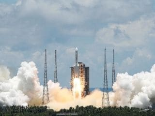 China Launches Mars Probe in Space Race With US