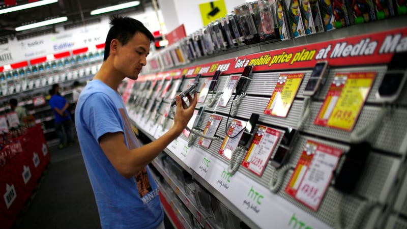China Mobile Phone Shipments Fell 6 Percent in March as Economy Slows: CAICT