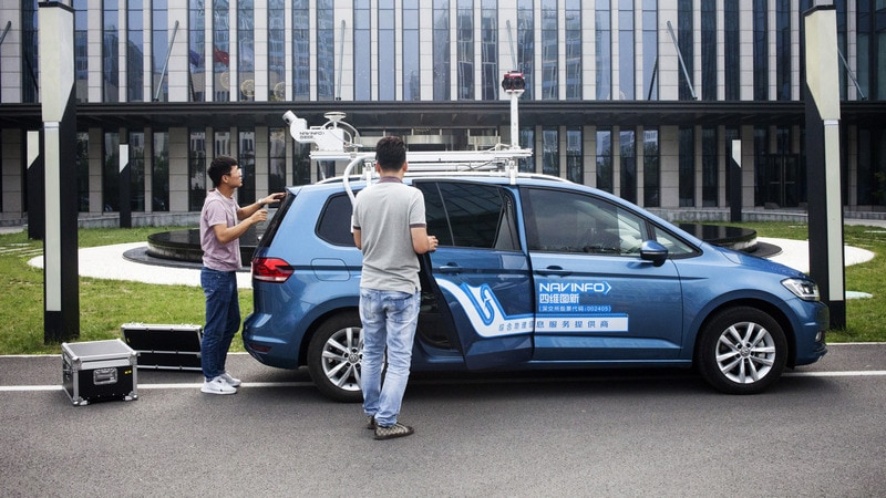 Maps for Self-Driving Cars Become Big Business in China