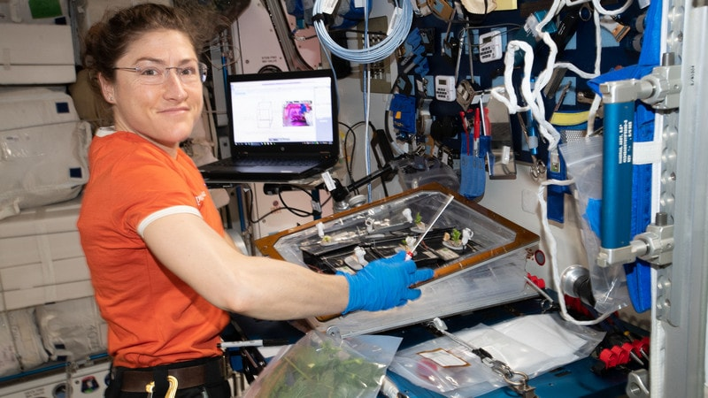 NASA Astronaut Christina Koch to Set Record for Longest Spaceflight by a Woman