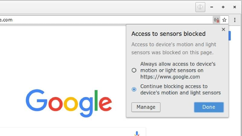 Google Chrome Will Prevent Websites From Using Your Devices