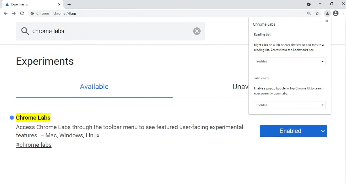 Google Chrome makes testing experimental features easy""