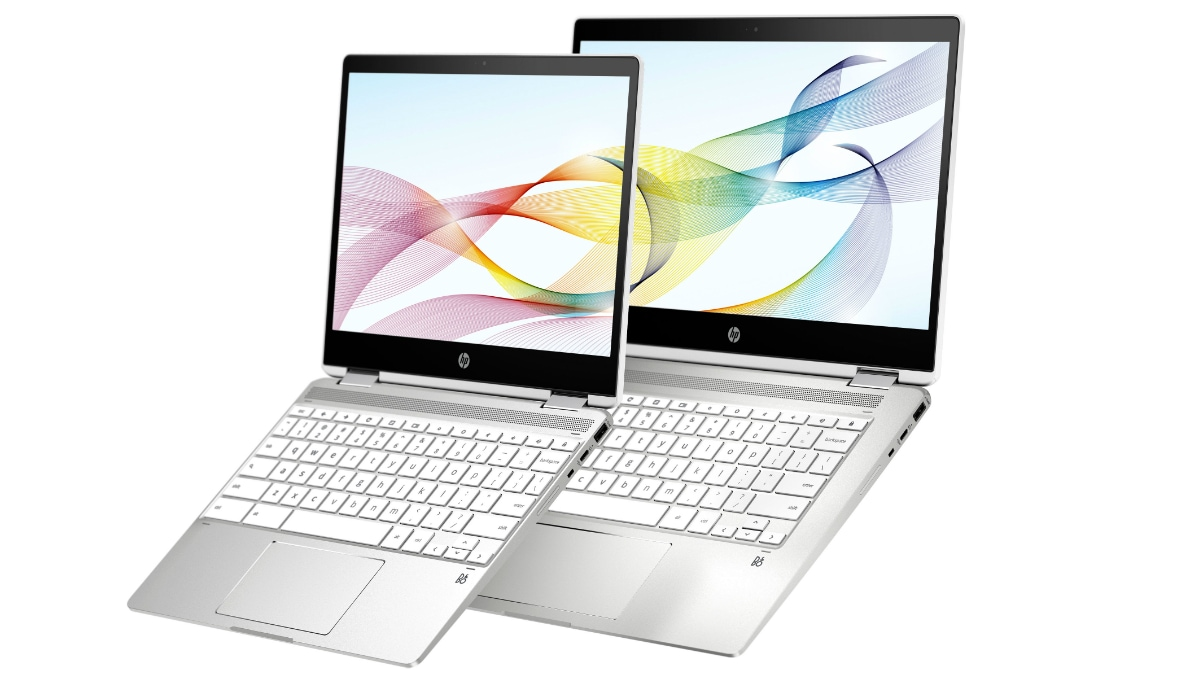 HP Chromebook x360 12b, HP Chromebook x360 14b USI-Compatible Laptops Launched