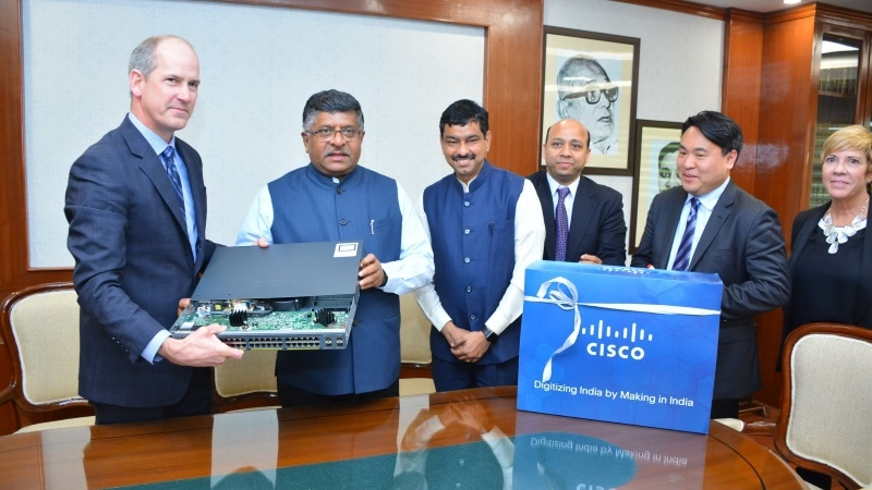 Cisco Unveils Its First 'Made in India' Product - A Router