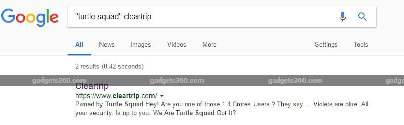 cleartrip google cleartrip