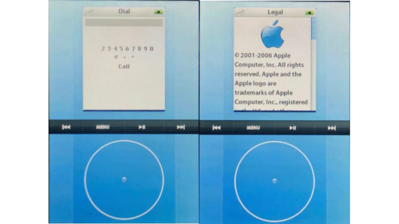Apple's Click Wheel Touchscreen iPhone Prototype Revealed