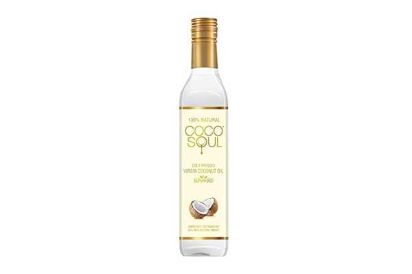 Best Organic Coconut Oils - Coco Soul Cold Pressed Natural Virgin Coconut Oil, 250 ml