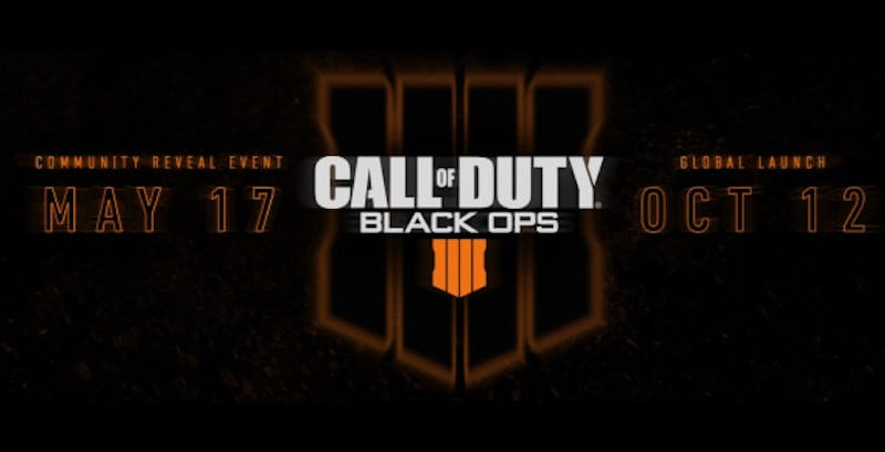 Call of Duty: Black Ops 4 Release Date Revealed, No Nintendo Switch Version