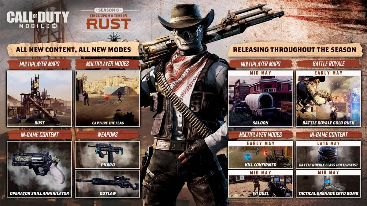 Call Of Duty Mobile Gold Rush Event For Season 6 Is Live Exchange Gold For Epic Rewards Technology News