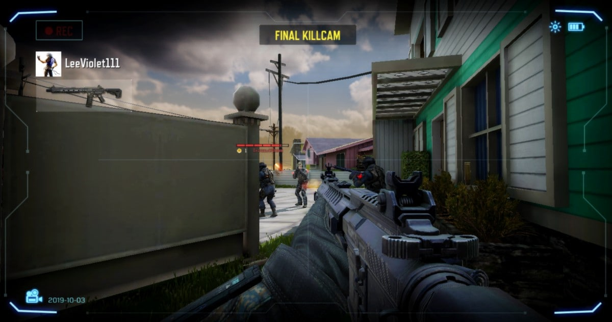 cod mobile killcam Call of Duty Mobile