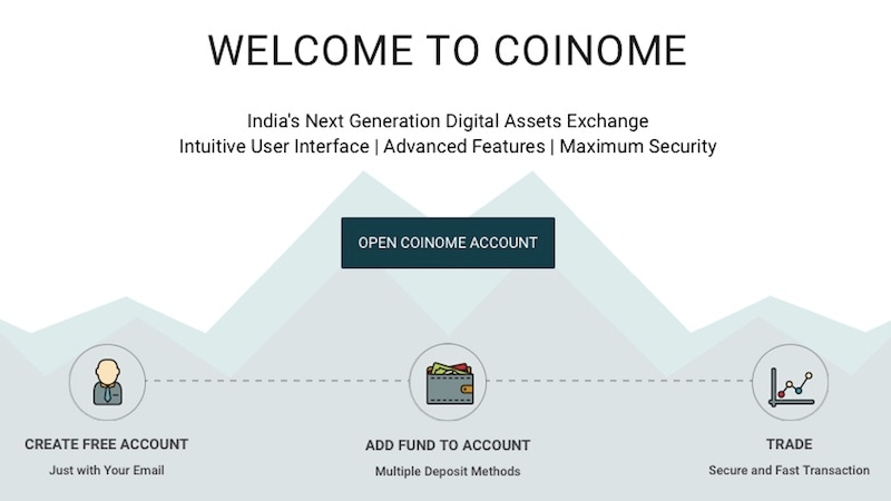 coinome bitcoin exchange