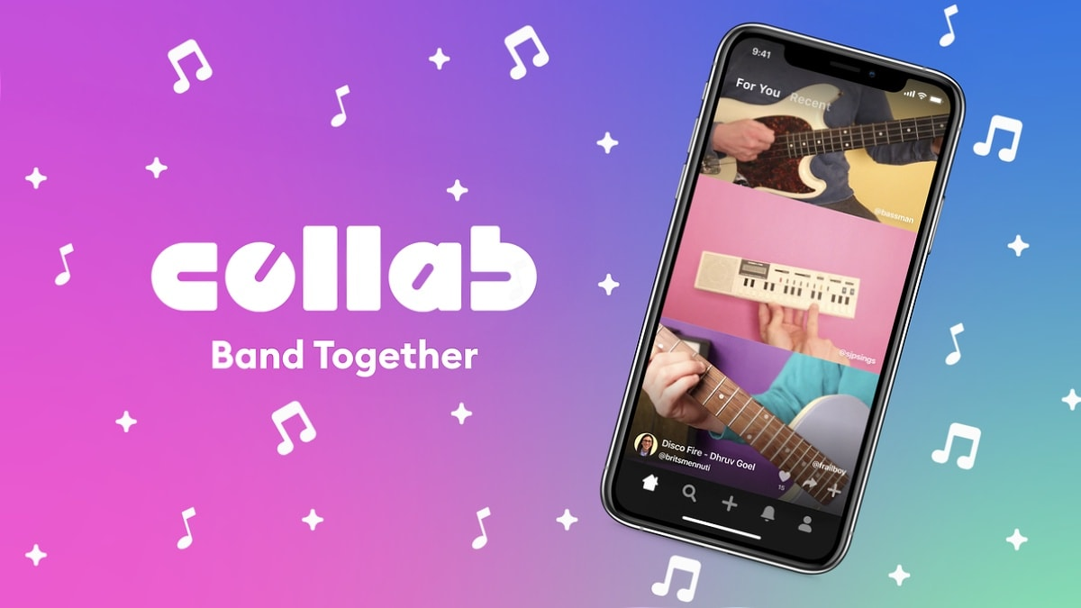 Facebook launches collaborative music video app Collab for iOS users