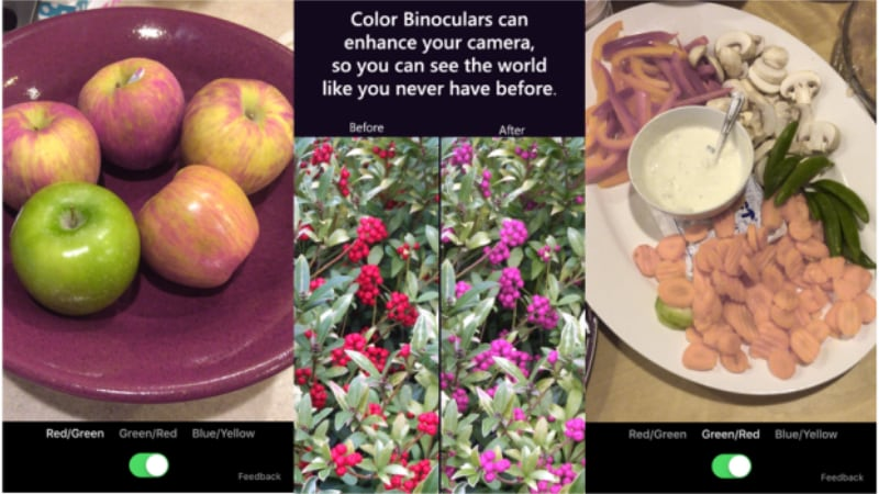 Microsoft Launches Color Binoculars App for iOS to Assist the Colour-Blind