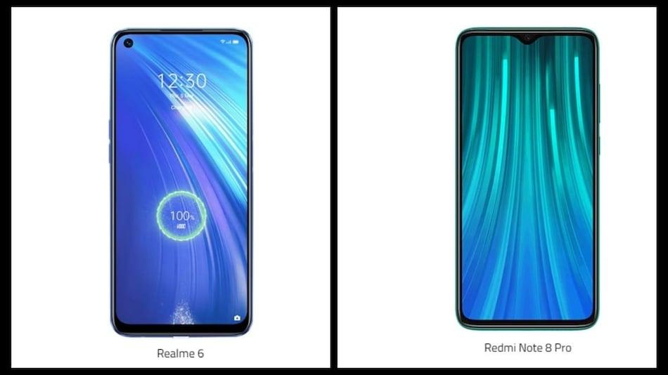 Realme 6 vs Redmi Note 8 Pro: Price in India, Specifications Compared